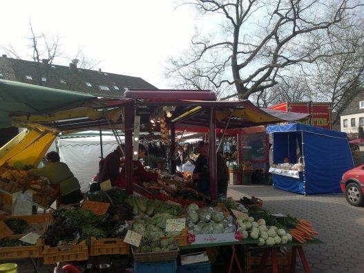 Blankeneser Bahnhofstrasse Markt